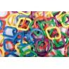 Anillas engarzables geométricas. Set de 60 piezas