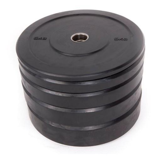 Black Rubber bumper plate