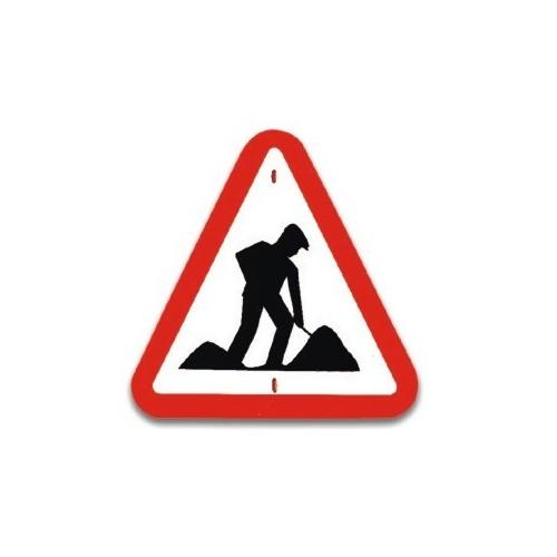 Traffic panel- Road works