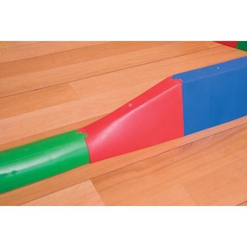 Pieza de unión pasillo acoplable a semicircular.