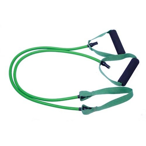 Resistance tube with central ribbon 1.2m (12Lbs - Medium)