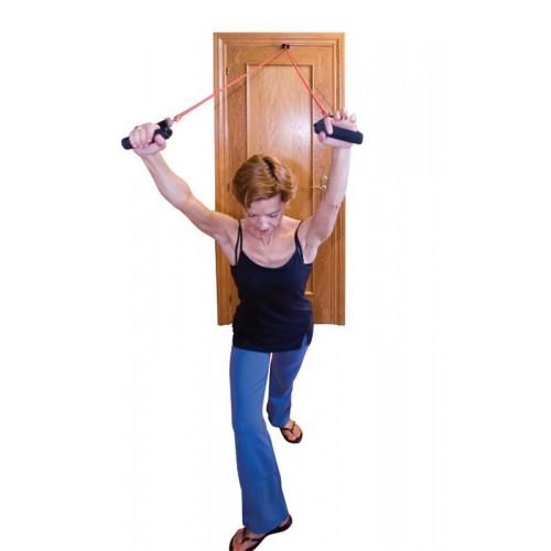 Door tubex. Para la realización de múltiples ejercicios.
