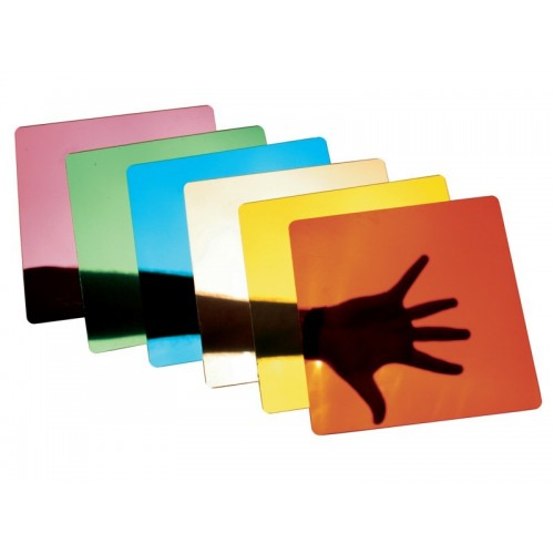 Espejos Colores Cuadros, Set de 6 Unidades