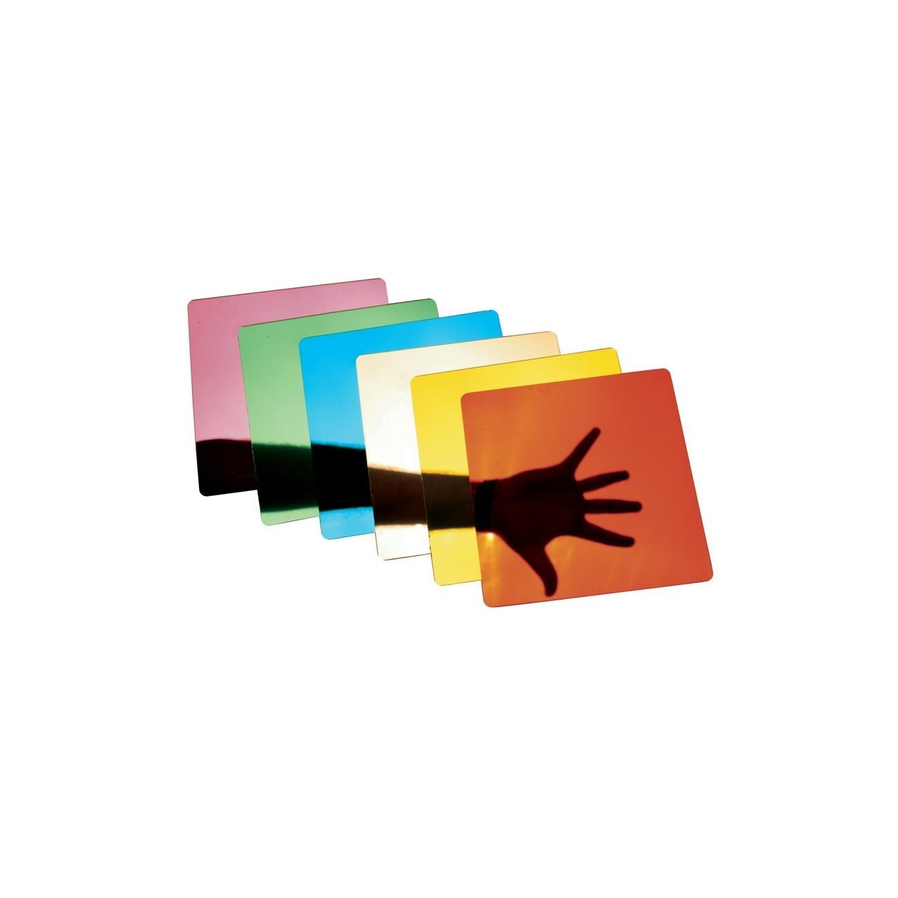 Espejos colores cuadros set de 6 unidades amayasport - Cuadros de espejo ...