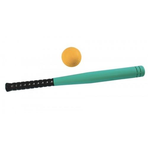 Foam baseball bat & ball