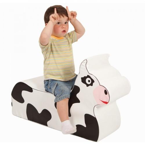 Foam cow