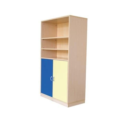 Módulo mediano con puertas + 2 baldas horizontales 1/1