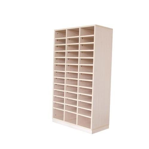 Módulo mediano + 2 baldas verticales + 36 baldas horizontales 1/3