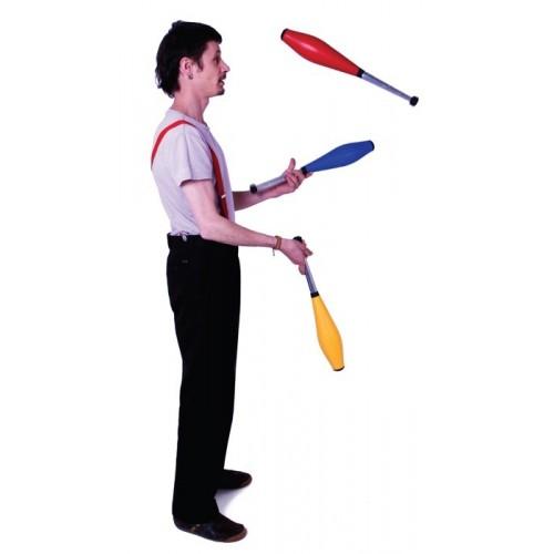 Butterfly juggling clubs