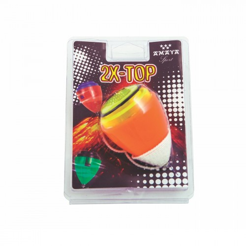 PS bicolor Spinning top
