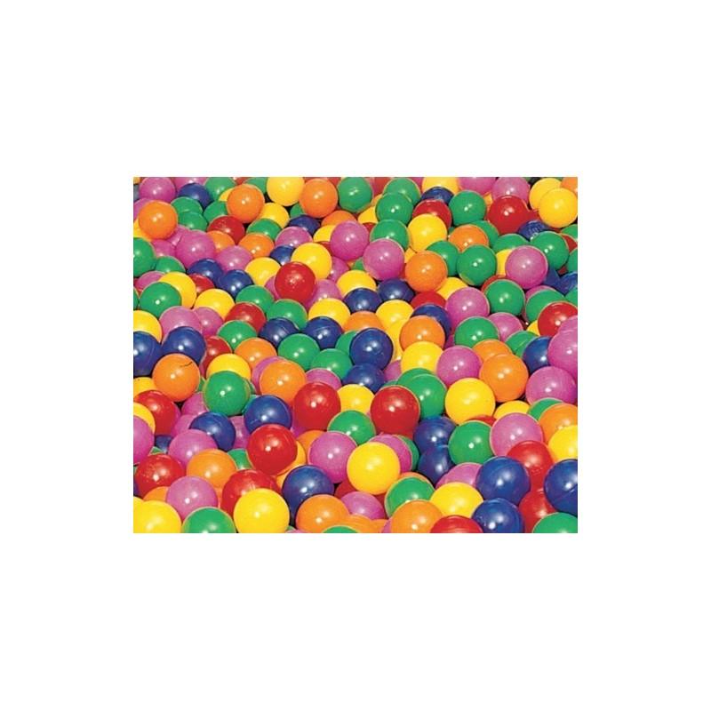 Pelotas llenado de piscina Ø85mm, Bolsa 500Unds, 1 color
