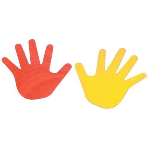 Hand shape marker.