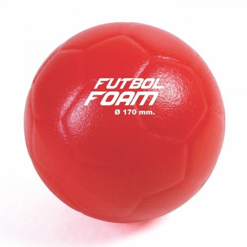 Balón fútbol foam recubierto Ø170 mm