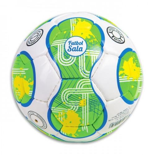 "Balón fútbol sala Cuero ""soft touch"" Ø 185 mm. Peso 400 gr."