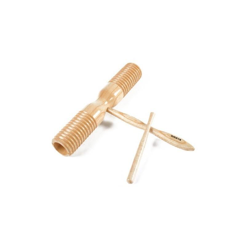 Wood Scrapped Instrument. Raspa