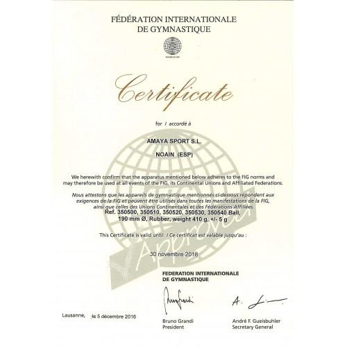 Pelota Gimnasia Rítmica Tecnocaucho® Galaxy