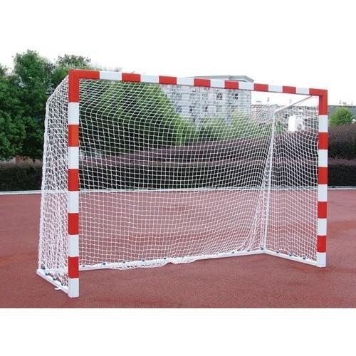 Porterías Balonmano y Futbol Sala Fija Aluminio Arquillo Cuadrado