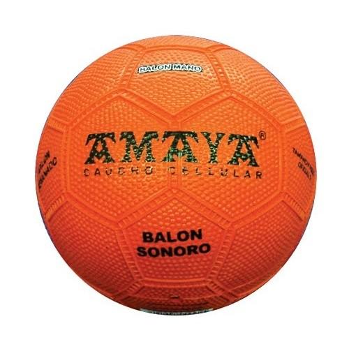 Sonorous cellular rubber ball handball. Ø150 mm