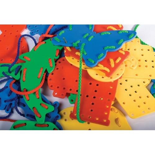Figuras para coser, Set de 24 piezas