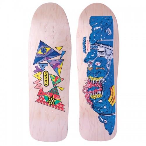 Skateboarding board