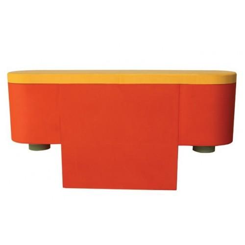 Parque modular soft guarda material, 6 módulos + 6 piezas de unión