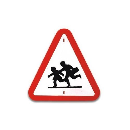 Traffic panel- Caution Children