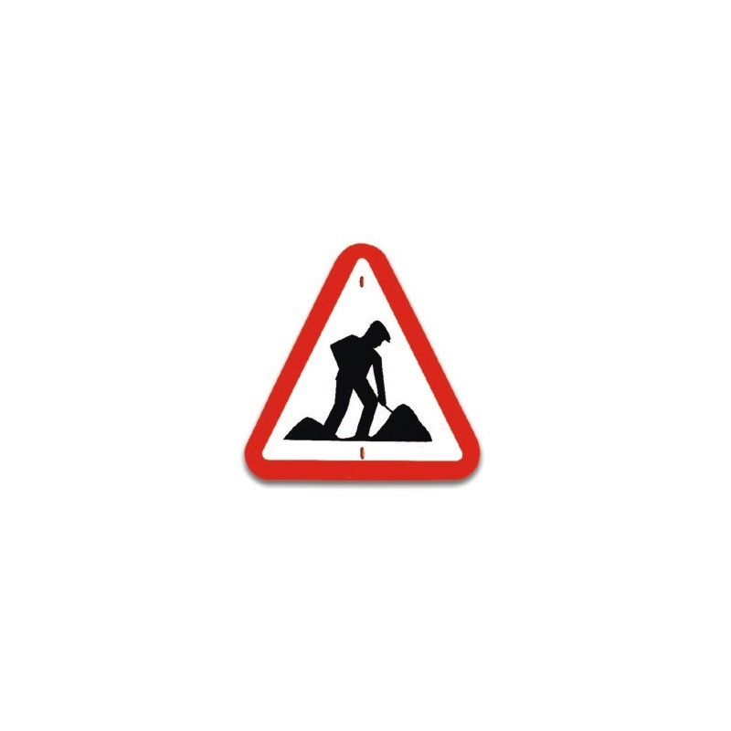 Traffic panel- Road works