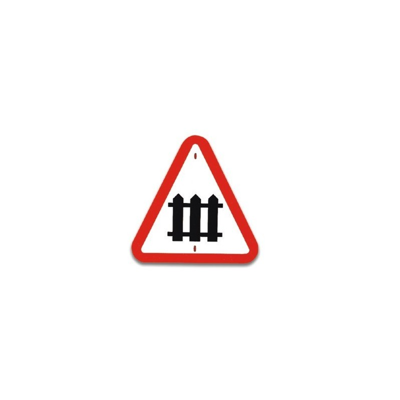 Traffic panel - Level crossing with gates