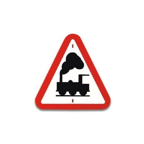 Traffic panel-Railway crossing