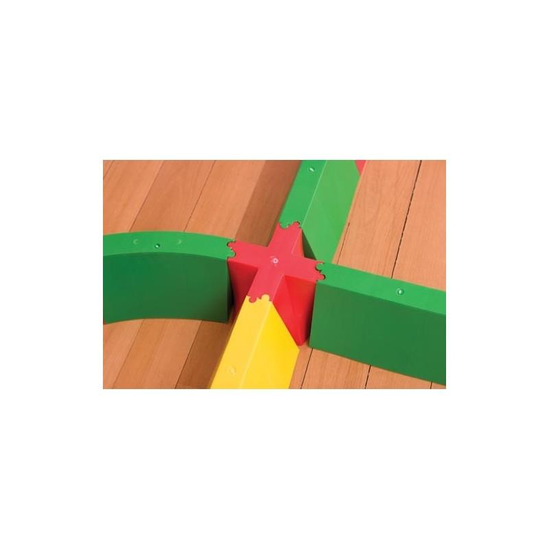 Cruz de unión pasillo acoplable
