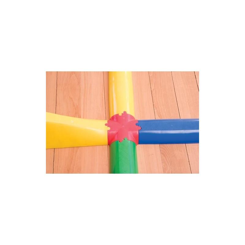 Cruz de unión pasillo semicircular