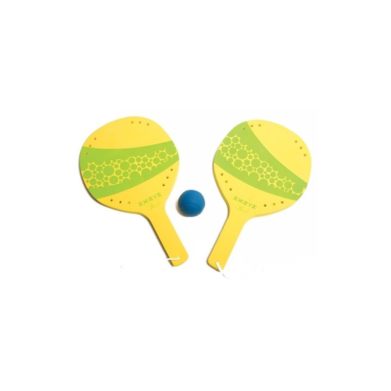 Eva Raquets + ball.
