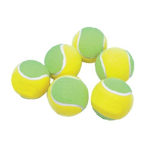Mini tennis official balls. Bucket with 100 units.