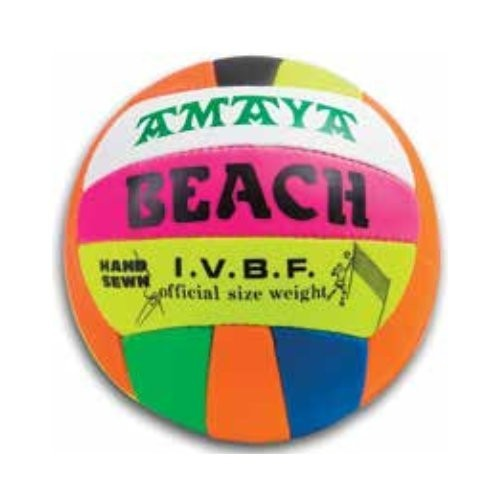 Beach volley ball. Sewed leather