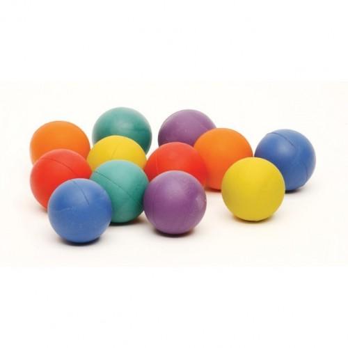 Plain rubber-foam ball ø 50 mm.
