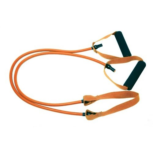 Resistance tube with central ribbon. 1.2m (7Lbs - Light)