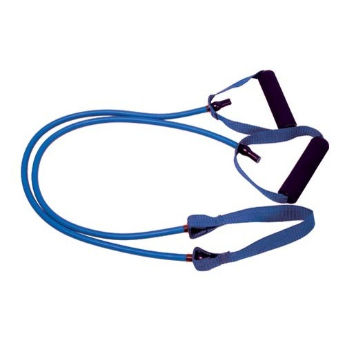 Resistance tube with central ribbon 1,2m (17Lbs - Strong)