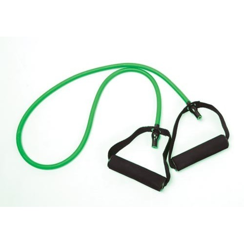Resistance tube 1,2 m. Color green - Medium.
