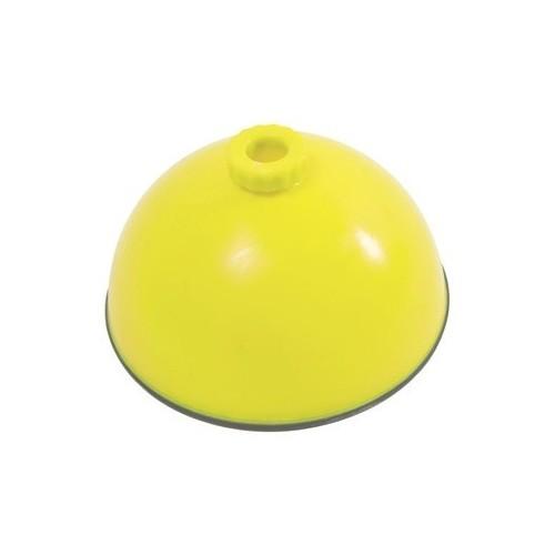 Base rellenable hueca con base antideslizante. Ø 24 cm.
