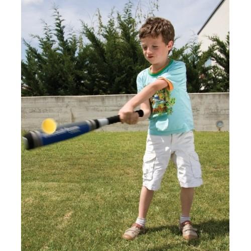 Bate y Pelota de Béisbol de Foam - 61 cm y Ø 7,5 cm