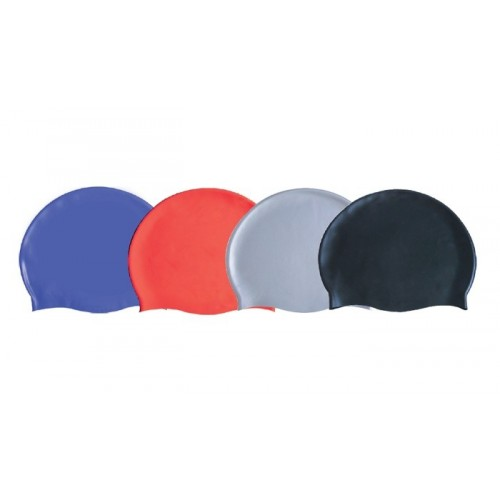 Silicone bathing cap