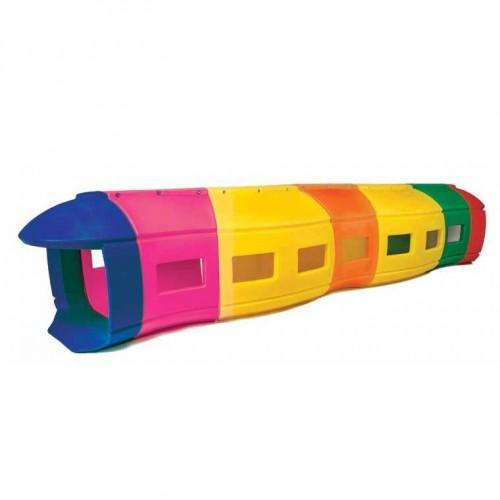 New Train Tunnel (Head+Tail+Tree Wagons)