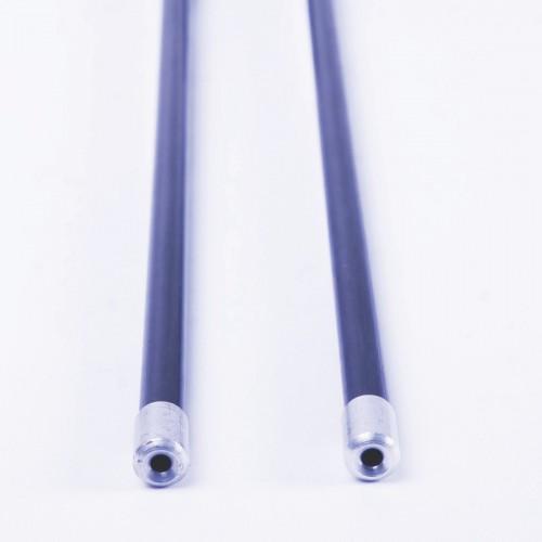 Fiber diabolo sticks