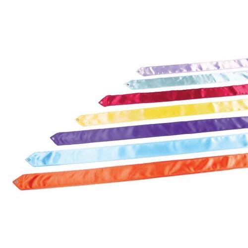 Rhythmic Gymnastics Ribbon - Special for School use- 5 m with stick