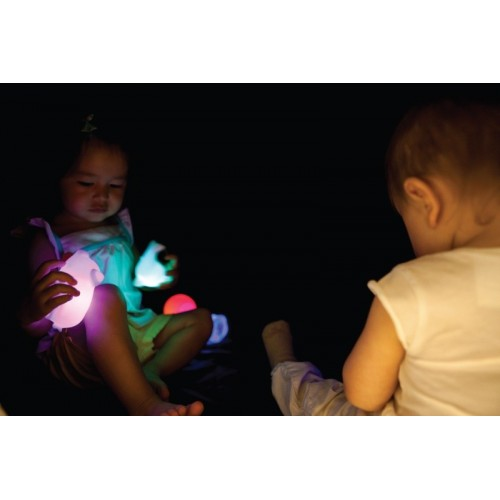 Set of 6 soft figures with light