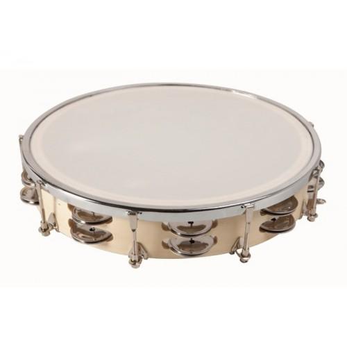 Double Cymbals Tambourine 25 cm