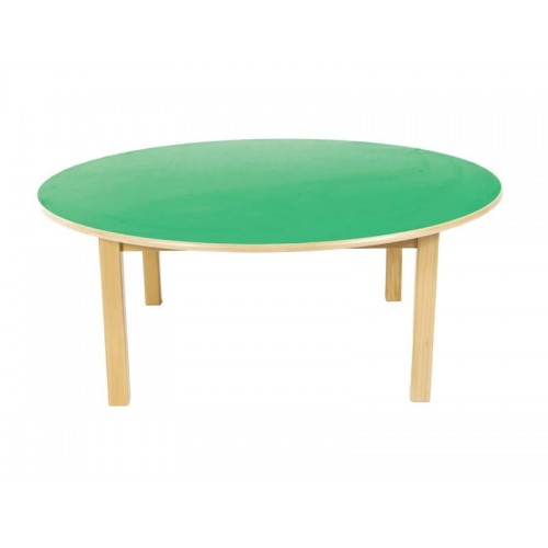 Table Of Wood - Rounded Ø120 cm