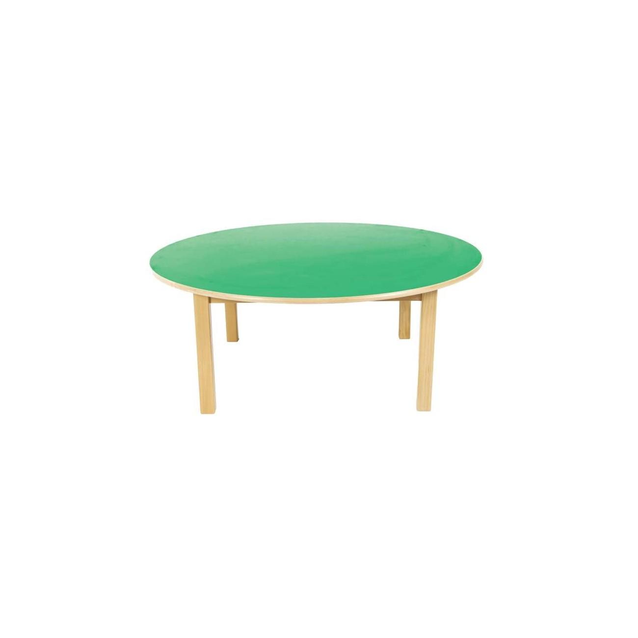 Mesa de madera redonda 120 cm - Mesa de madera redonda ...