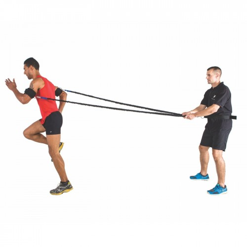 Double arm and leg muscle training