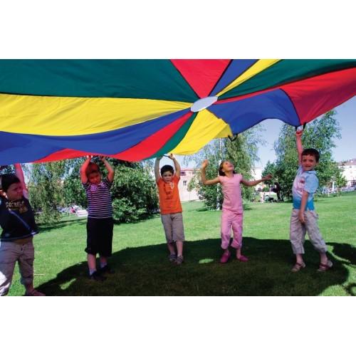 Parachute Nylon 6 Mt. 12 Handles.